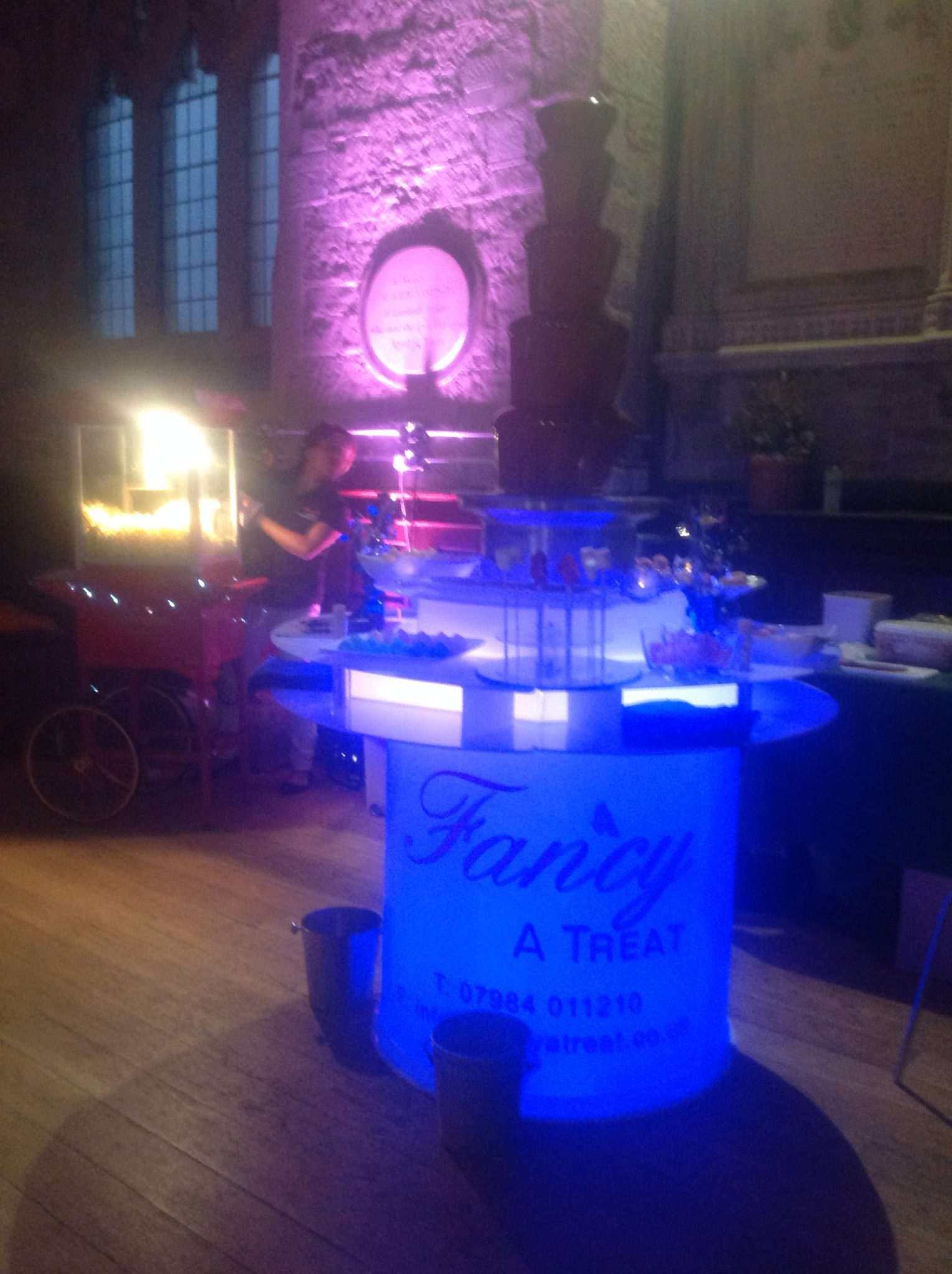 Chocolate Fountain Hire London